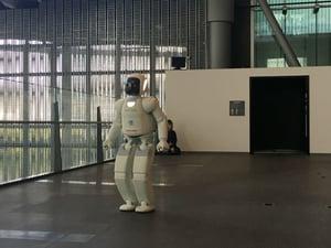 Hondas AI robot i Tokyo_Centigos resa-1-1